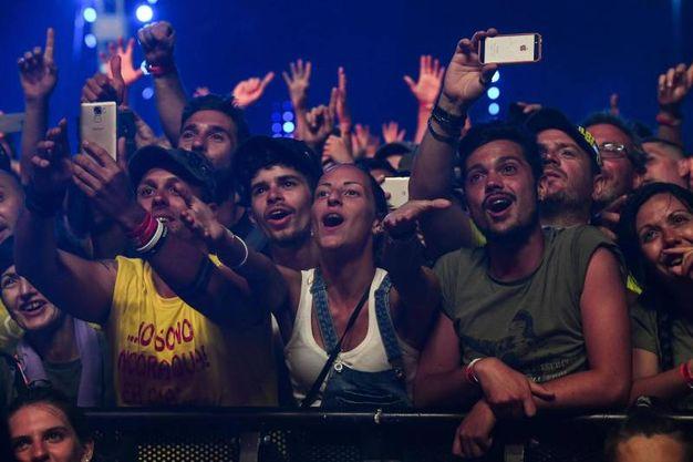 I fans di Vasco (Foto Ansa)