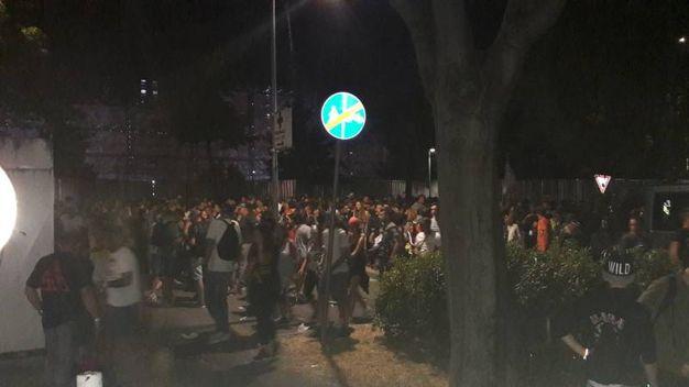 L'uscita degli oltre 220mila fan di Vasco