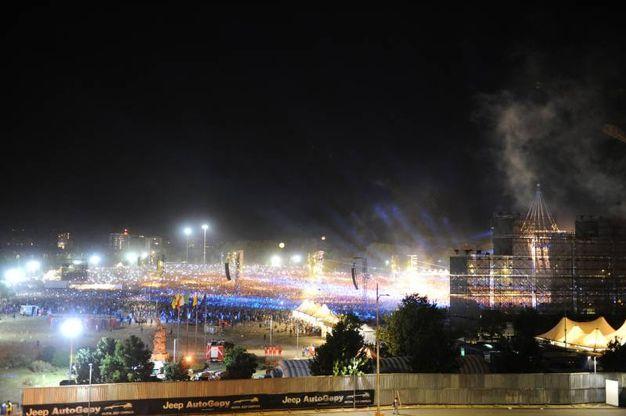 220.000 le persone paganti al concertone di Vasco Rossi (foto Fiocchi)