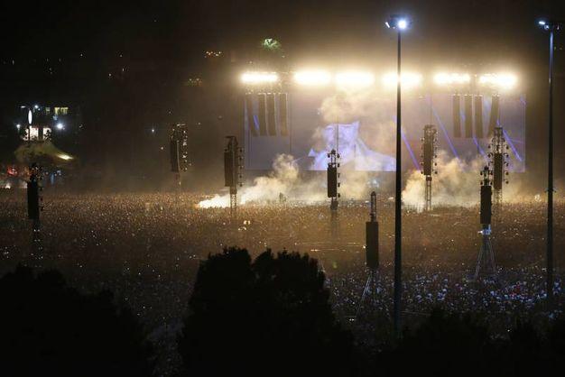 Il concerto storico di Vasco Rossi al Modena Park (foto Fiocchi)