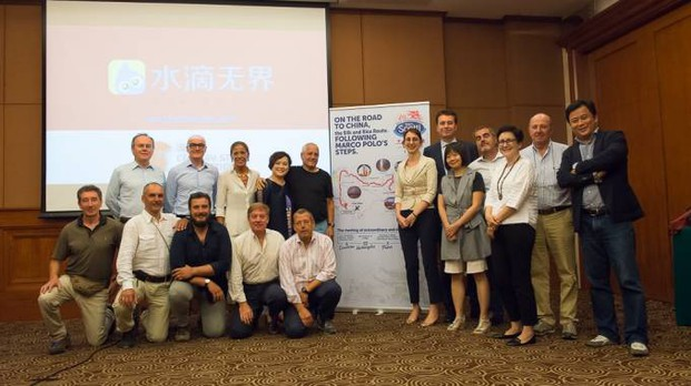La delegazione pavese in Cina al termine del lungo viaggio