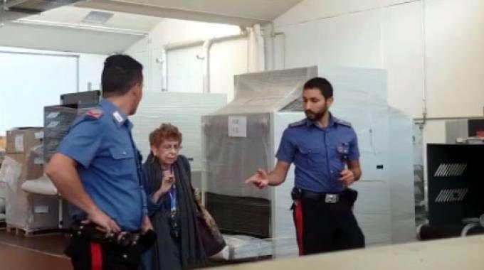 Maria Cristina Gilardoni e i carabinieri