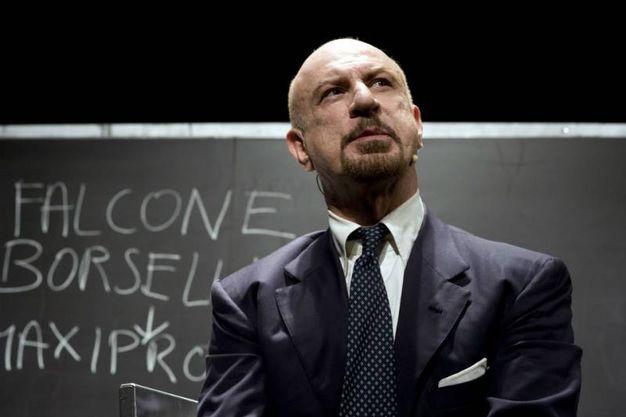 attore Sebastiano Lo Monaco protagonista del secondo spettacolo il 18 luglio a Fossombrone