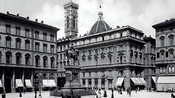 piazza della repubblica ieri e oggi in edicola con la