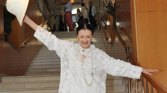 Carla Fracci a Cremona (Newpress)