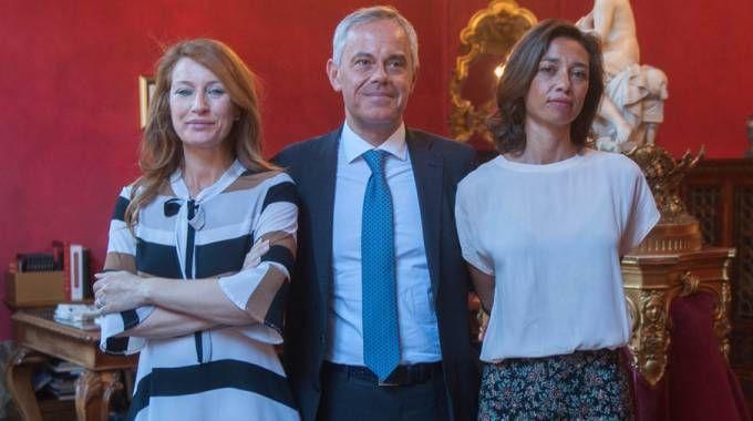 Simona Gavioli, Giancarlo Tonelli e Alice Zannoni (foto Schicchi)