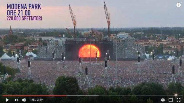 Modena Park, il video in time-lapse della grande giornata di Vasco Rossi e dei 220.000 fan