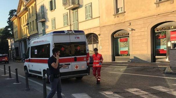 I soccorritori del 118 hanno trasportato in ospedale i feriti