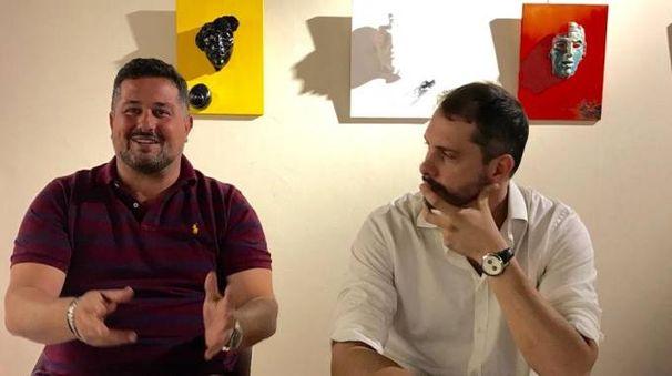 Il vicesindaco Agresti e il presidente di Fondazione, Mori