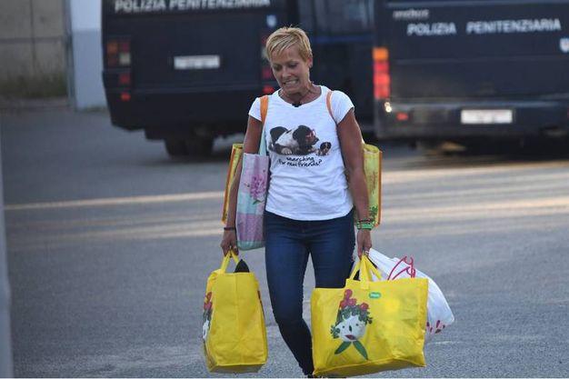 La Corte d'appello del tribunale di Bologna ha assolto Daniela Poggiali, 45 anni, ex infermiera all'ospedale Umberto I di Lugo (Foto Schicchi)