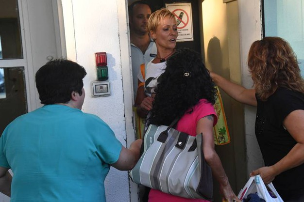 L'imputata in primo grado fu condannata a Ravenna all'ergastolo perché riconosciuta colpevole di avere iniettato una dose letale di potassio alla paziente 78enne Rosa Calderoni la mattina dell'8 aprile 2014 a poche ore dal ricovero (Foto Schicchi)