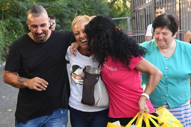 """Le sorelle di Daniela Poggiali: """"Finalmente fatta giustizia"""" (Foto Schicchi)"""