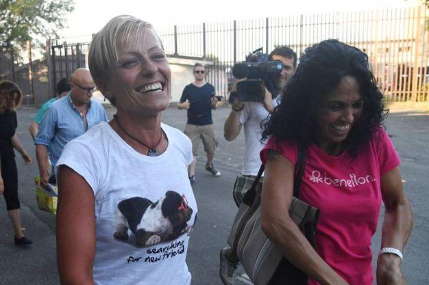 """""""Siamo sempre state orgogliose di Daniela"""", hanno detto al termine del processo di secondo grado le sorelle (Foto Schicchi)"""