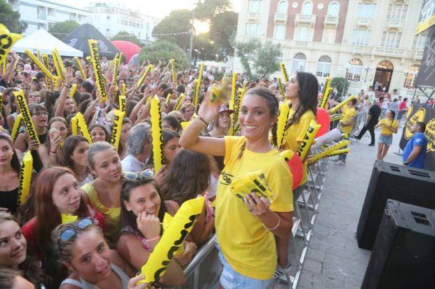 Tutti in piazza Costa per il concertone di Radio Bruno Estate (Foto Ravaglia)