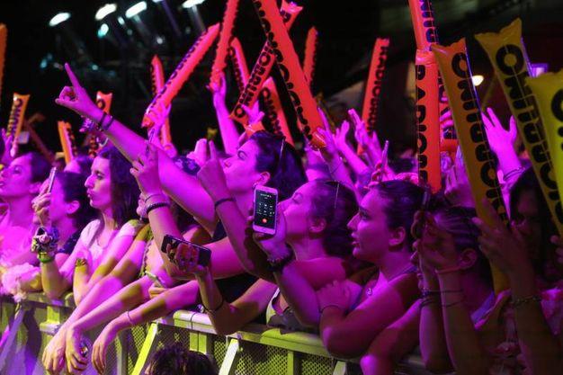 La folla al concertone di Radio Bruno  (Foto Ravaglia)