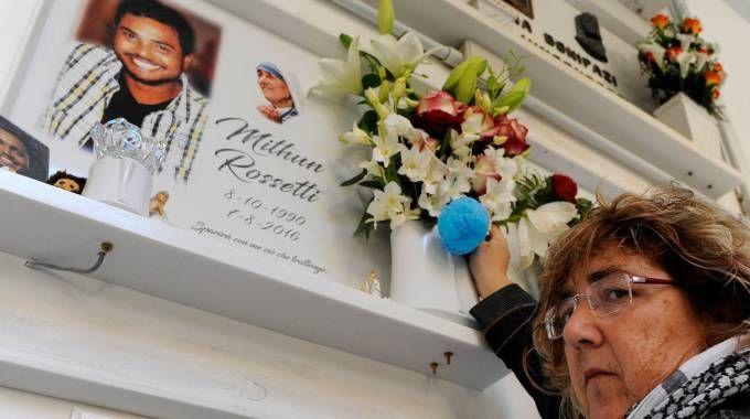 La mamma del 26enne Mithun Rossetti