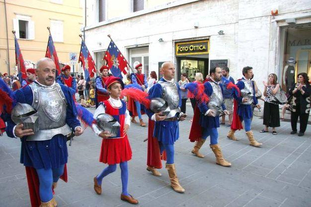 Armati di Porte Romana (Foto Labolognese)