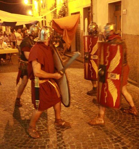 La rievocazione romana per le strade di Sarsina (Ravaglia)