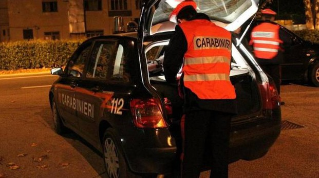 I controlli dei carabinieri (Foto Ferreri)