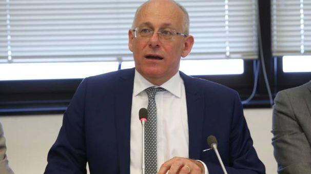 L'assessore regionale Mauro Parolini