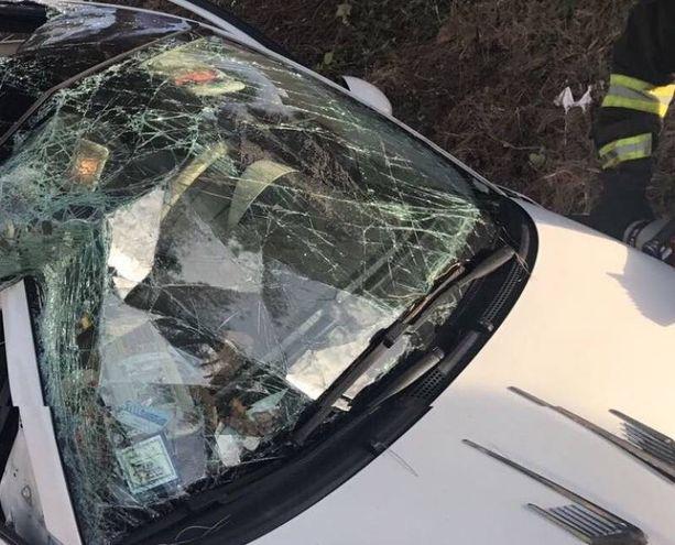 L'auto distrutta  (Valtriani)