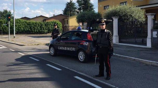 Un controllo dei carabinieri di Orzinuovi