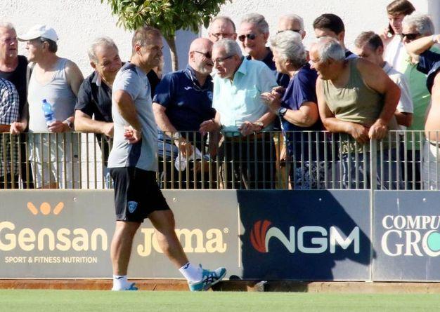 Alcuni momenti dell'allenamento (Gianni Nucci / Fotocronache Germogli)