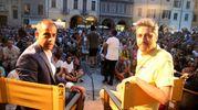 Pif sul palco a piazza del Popolo (foto Ravaglia)