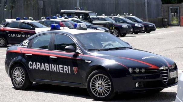 Una pattuglia dei carabinieri (foto archivio Businesspress)