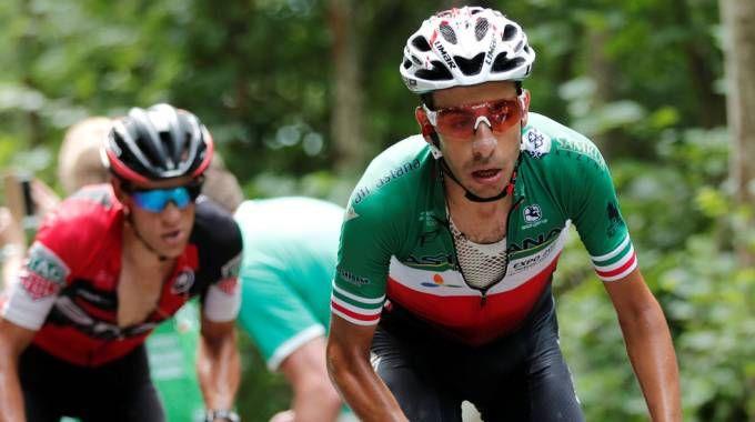 Fabio Aru in azione al Tour de France (LaPresse)