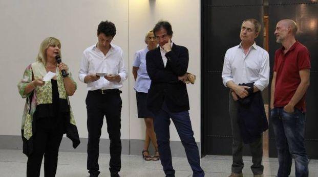 La presentazione con l'attore Gianmarco Tognazzi