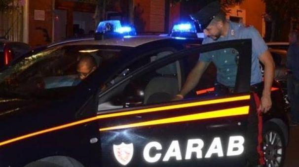 I carabinieri in una foto d'archivio