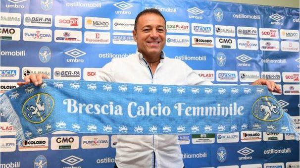 Giampietro Piovani guiderà il corso tutto nuovo del Brescia che vuole continuare a vincere