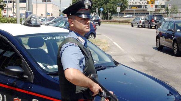 Ad ammanettarla ieri sono stati i carabinieri