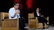 Massimo Recalcati con Lucrezia Ercoli (Fotoprint)