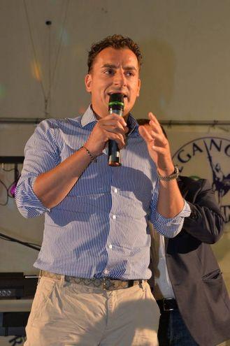 Il segretario romagnolo della Lega Nord, Jacopo Morrone (foto Frasca)