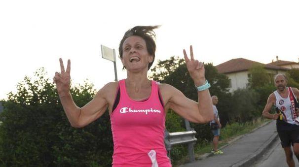 Elisabetta Caporali, seconda nella classifica femminile