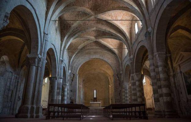 Sovana antica cattedrale di San Pietro