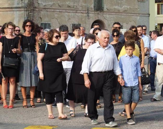 L'addio a Cristiano Bernardelli