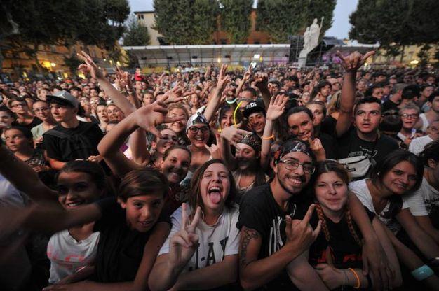 J-Ax e Fedez al Lucca Summer Festival (Foto Alcide)