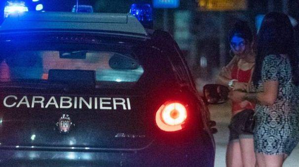 I controlli da parte dei carabinieri (foto Zeppilli)