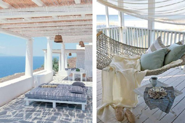 Case Mare Stile Mediterraneo : Outdoor in stile mediterraneo per la casa al mare magazine tempo