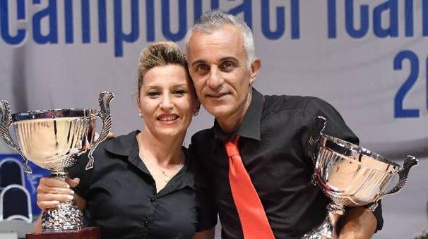 I ravennati Gianluca Burbassi e Patrizia Agati