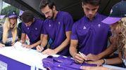 La sessione di autografi dei giocatori (Fotocronache Germogli)