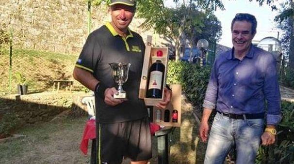 Marco Baleani premiato dagli organizzatori