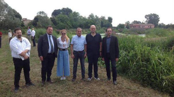 La delegazione della Regione Lombardia in visita a Parabiago