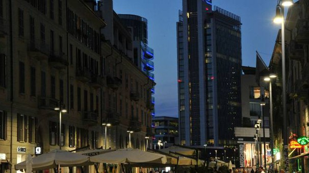 Corso Como a Milano in una foto di repertorio (Newpress)