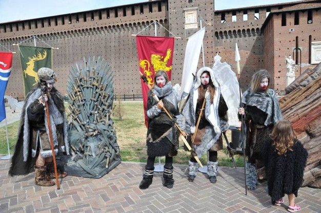Fulcro della vicenda sono le due famiglie Stark e lannister (Newpress)