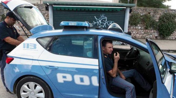 La Punto era stata fermata dalla polizia