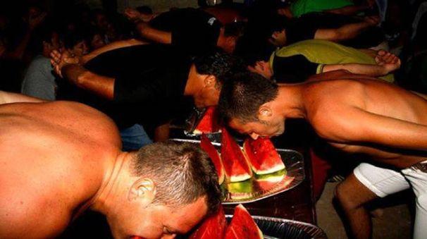 In programma anche la gara per mangiatori di cocomero